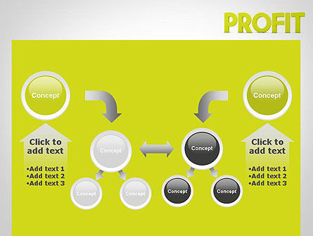 Word PROFIT PowerPoint Template Slide 19