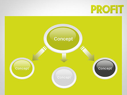 Word PROFIT PowerPoint Template Slide 4