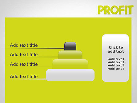 Word PROFIT PowerPoint Template Slide 8