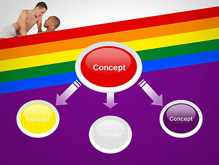 Gay Couple PowerPoint Template Slide 4