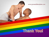 Gay Couple PowerPoint Template#20