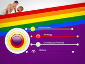 Gay Couple PowerPoint Template#3