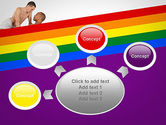 Gay Couple PowerPoint Template#7