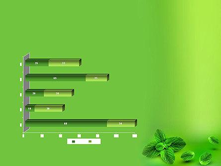 Mint Green Background PowerPoint Template Slide 11