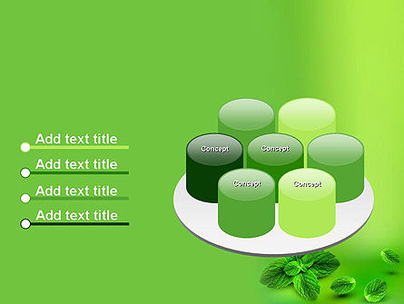 Mint Green Background PowerPoint Template Slide 12