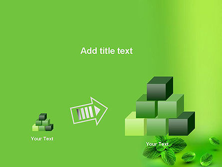 Mint Green Background PowerPoint Template Slide 13