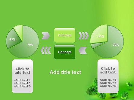 Mint Green Background PowerPoint Template Slide 16