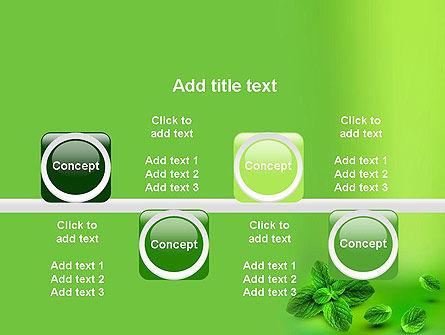 Mint Green Background PowerPoint Template Slide 18