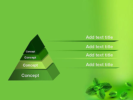 Mint Green Background PowerPoint Template Slide 4