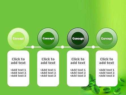 Mint Green Background PowerPoint Template Slide 5