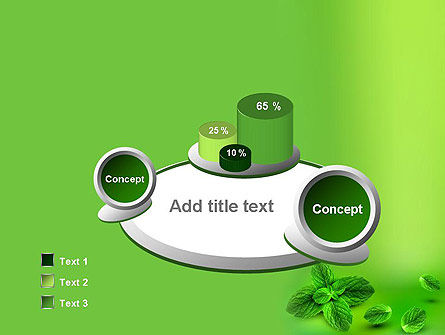 Mint Green Background PowerPoint Template Slide 6