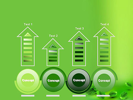 Mint Green Background PowerPoint Template Slide 7