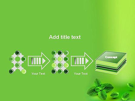 Mint Green Background PowerPoint Template Slide 9