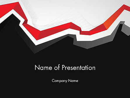 Abstract/Textures: Polylines PowerPoint Template #11928