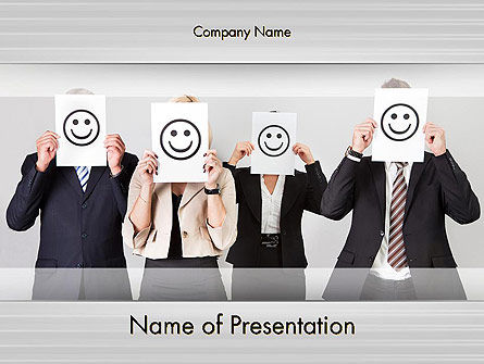 Keep Employees Happy PowerPoint Template