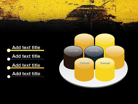 Painted Plaster Wall Texture PowerPoint Template Slide 12
