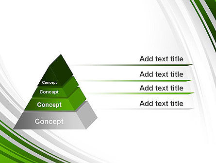 Green and Gray Curves PowerPoint Template Slide 12