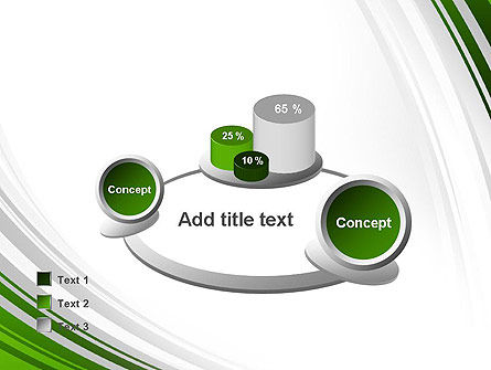 Green and Gray Curves PowerPoint Template Slide 16