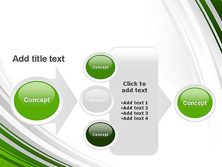 Green and Gray Curves PowerPoint Template Slide 17