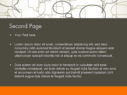 Comments PowerPoint Template, Slide 2, 11940, Telecommunication — PoweredTemplate.com