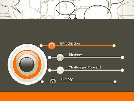 Comments PowerPoint Template, Slide 3, 11940, Telecommunication — PoweredTemplate.com