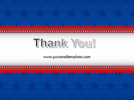 Blue Stars Background PowerPoint Template Slide 20