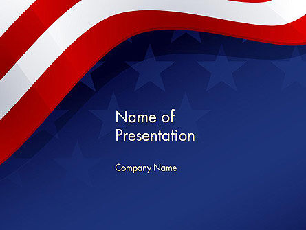 Holiday/Special Occasion: 4th July Theme PowerPoint Template #11942