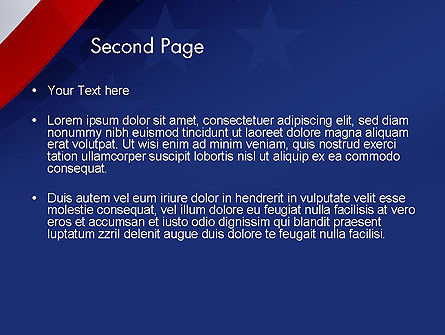 4th July Theme PowerPoint Template Slide 2