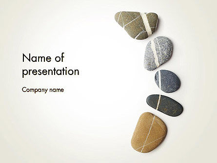 Medical: Mindfulness Meditation PowerPoint Template #11943