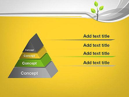Sapling PowerPoint Template, Slide 4, 11944, Nature & Environment — PoweredTemplate.com