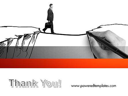 Bridge the Gap PowerPoint Template Slide 20