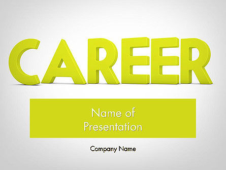 Word CAREER PowerPoint Template