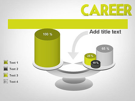 Word CAREER PowerPoint Template Slide 10