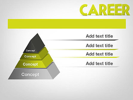 Word CAREER PowerPoint Template Slide 12