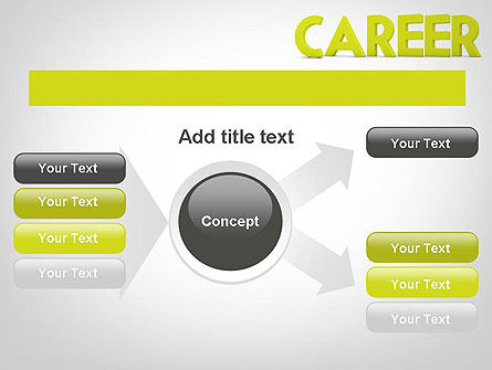 Word CAREER PowerPoint Template Slide 14