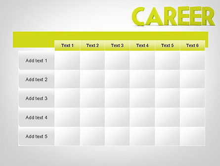 Word CAREER PowerPoint Template Slide 15