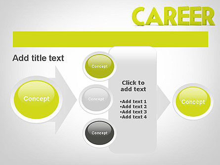 Word CAREER PowerPoint Template Slide 17
