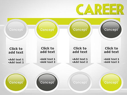 Word CAREER PowerPoint Template Slide 18