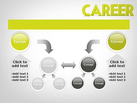 Word CAREER PowerPoint Template Slide 19