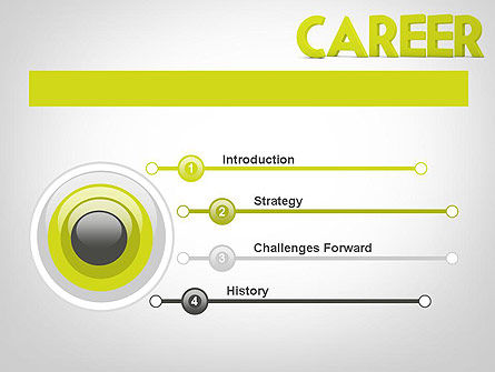Word CAREER PowerPoint Template Slide 3