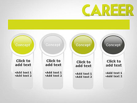 Word CAREER PowerPoint Template Slide 5