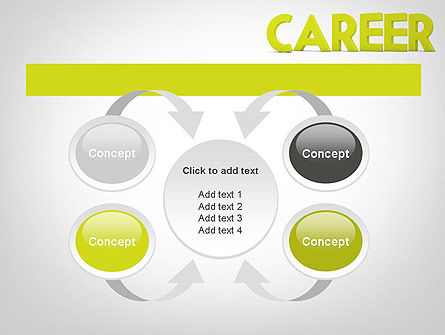 Word CAREER PowerPoint Template Slide 6