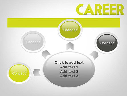 Word CAREER PowerPoint Template Slide 7