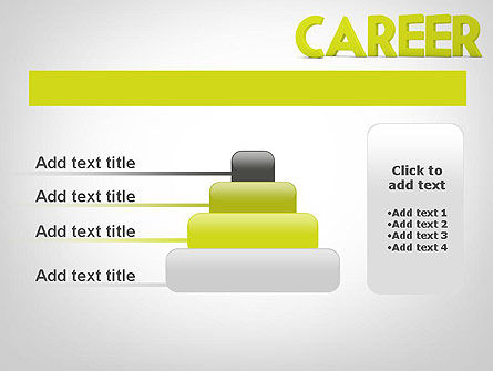 Word CAREER PowerPoint Template Slide 8