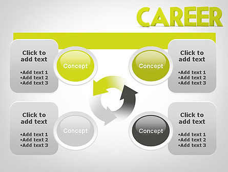 Word CAREER PowerPoint Template Slide 9