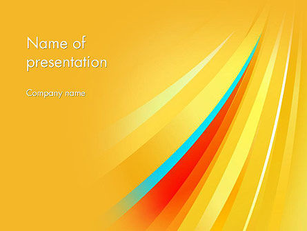 Abstract/Textures: Launch and Acceleration Theme PowerPoint Template #11949