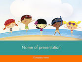 Education & Training: Summer Fun PowerPoint Template #11950
