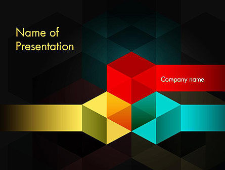 Abstract Geometric Shapes PowerPoint Template