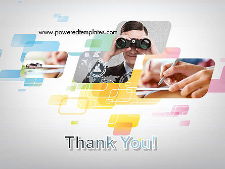 Abstract Business Theme PowerPoint Template Slide 20