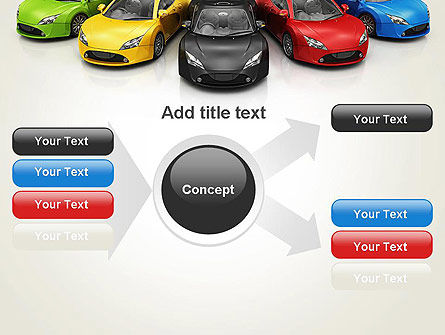 New Cars PowerPoint Template Slide 15